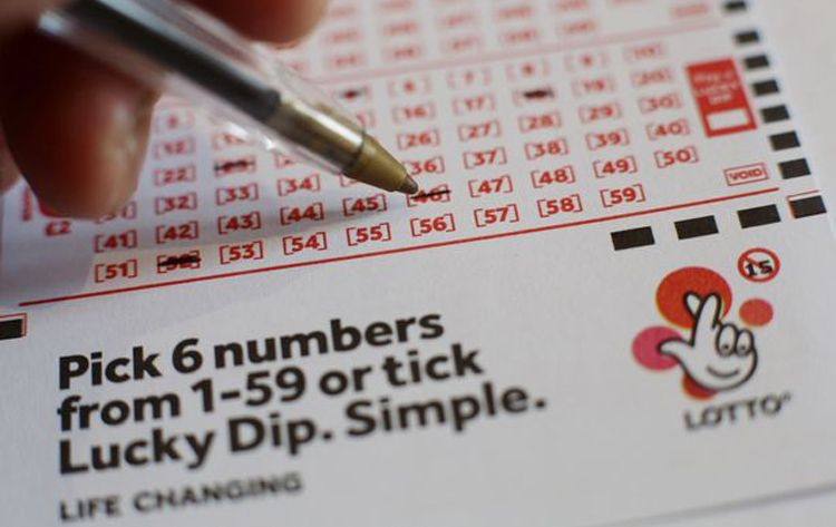 Lottery numbers spells